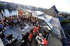 Citroën-Incentiv-Veranstaltung, Rock'nHole (Urban Golf Tour)