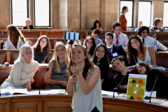 Europäisches Schülerparlament EUSP initiiert durch Wissenschaft im Dialog, Manchester