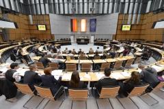 Berliner Schülerparlament EUSP initiiert durch Wissenschaft im Dialog, Berlin