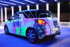 Citroën StrokeArtFair, Berlin - Von StreetArt-Künstlern individuell gestaltete DS3-Fahrzeuge